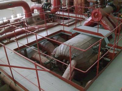 Energetikos muziejaus ekspozicijos fragmentas - sovietinė technika