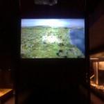 Projetorių ekranai įsielektrina ir taukia dulkes
