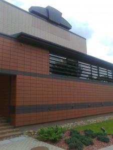 Puikus Kernevės muziejaus fasadas