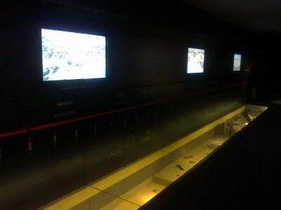 Ryskiai plieskaintys televizoriai užgožia grafinius vaizdus ir tekstus